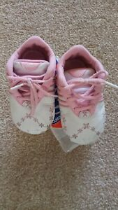 Adidas Crib Shoes UK 3 Infant RRP £12.99 Pink Floral Design Boxed