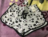 Mickey Mouse Shorts Sporty Gym Running Active Disney Casual Hot Pant Primark