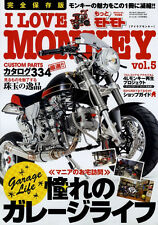 [BOOK] I LOVE MONKEY vol.5 Honda Gorilla 4L Baja APE DAX Daytona Yoshimura Japan