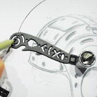Magic Ultimate Design Tool Mini Compass Protractor Combo-Circles Drawing R2H6
