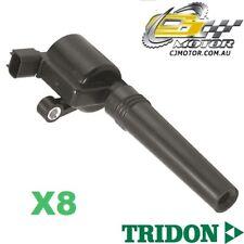 TRIDON IGNITION COIL x8 FOR Jaguar  XJ8 11/97-06/03, V8, 4.0L