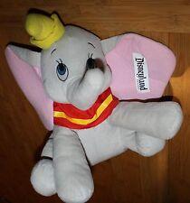 "NWT Dumbo Plush 17"" Stuffed Elephant Disneyland Resort Cartoon Disney Sitting"