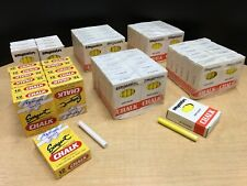 Bundle of New White and Yellow Chalk Boxes 816 Pieces