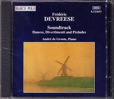 Frederic DEVREESE b.1929 Soundtrack Dance Divertimenti CD André de Groote Piano