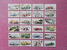 ORIGINAL TRADE CARDS BY CASTROL - RACING CARS