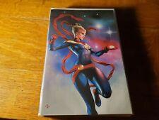 Marvel Infinity Countdown 1 Adi Granov Virgin Variant Cover Captain Marvel NM