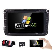 "8"" Car DVD Player GPS Radio for Volkswagen VW GOLF JETTA POLO PASSAT TIGUAN+CAM"