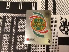 #93 Morocco badge Tschutti Heftli World Cup 2018 football sticker Marokko shiney