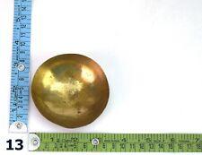 Old Vintage Meditation Bronze Healing Medicinal Bowl Nice Collectible G27-66 Us