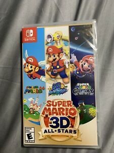 Super Mario 3D All-Stars (Nintendo Switch) - NEW- In Seal