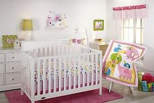 NEW Little Bedding by Nojo FOREVER FRIENDS 11 Piece Crib Bedding Set ~ Girl Pink