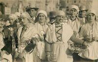 Cartolina di Pistoia, costumi tradizionali