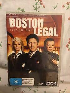 Boston Legal : Season 1 (DVD, 2006, 5-Disc Set)