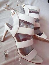 River Island Sandals White Shoes Size UK 7 /40 Uk7