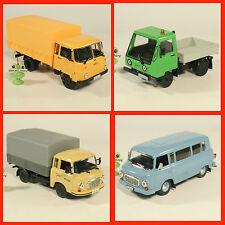1:43 Multicar 25 IFA Barkas B1000 HP KB Bus Robur 3001 DeAgostini USSR DDR UdSSR