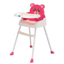 4 in1 Baby Kinder Hochstuhl Babystuhl Kinderstuhl Zusammenklappbar DE Stock