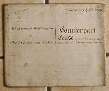 1833 Vellum Indenture Worthington - Cheape & Leslie, Abchurch Lane, London