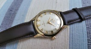 Vintage Swiss Omega Constellation automatic watch, steel-gold, 505-2852, runs