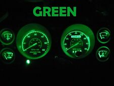 Gauge Cluster LED Dashboard Bulbs Green For Ford 79 86 Mustang Speedometer