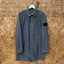 £895 Stone Island Shadow Project Silon long jacket/trench coat - L LARGE Naslan