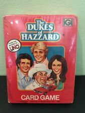 Dukes of Hazzard Card Game From Makers of UNO 2-8 Players From 1981 Sealed