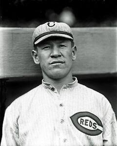 Jim Thorpe (1917) - Cincinnati Reds, 8x10 B&W Photo