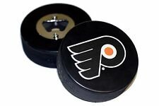 Philadelphia Flyers Basic Logo NHL Hockey Puck Bottle Opener
