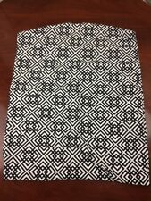 Baby Carrier Sling Made by Seven White Black Geometric Size 3 8-35lbs.