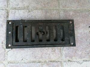 Grille d'aération grille en fonte réglable cheminée ou autres longueur 175 mm