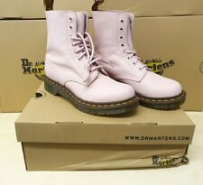 Dr. Martens 1460 Pascal Virginia Leather Boots, Bubblegum Pink, UK Size 5, New