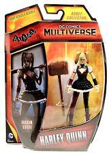 "DC Comics Multiverse 4"" Batman Arkham Knight Harley Quinn Action Figure NEW"