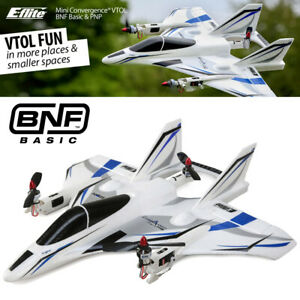 E-flite EFL9350 Mini Convergence VTOL BNF Basic Airplane, 410mm