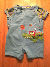 SUNSHINE BABY INFANT BOYS ROMPER & T SHIRT   SIZE 6 MONTHS