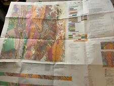 Geological Map of Alsace Queensland Australia - Sheet 6858 - 1982