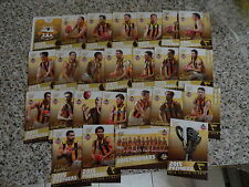 2015 AFL SELECT HAWTHORN PREMIERSHIP SET OF 25 CARDS BOX SET 3 PEAT