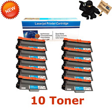 10 PACK TN750 TN720 Toner Cartridge For Brother MFC-8710DW 5450DN HL-5470DW
