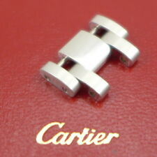 Original Cartier Tank Americaine 18ct Weissgold Element 15,5 mm 2000er Jahre