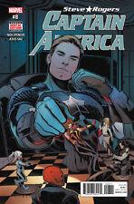 Steve Rogers Captain America #8 2016 Marvel Comics