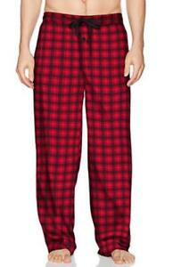 NEW~Men LARGE/XL~36-38~SOFT~Red & Black~Lounge Pants~Fruit of the Loom