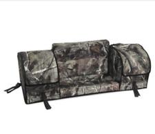 Universal ATV Rear Rack Cargo 3 Bag Kit w/ Passenger Backrest/Armrest AP Camo