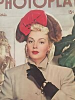 Vintage Collectible Photoplay Movie Magazine Lana Turner October 1946