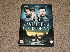 THE 9th LIFE OF LOUIS DRAX : 2017 DRAMA TRILLER DVD - IN VGC (FREE UK P&P)
