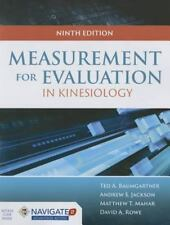 Measurement for Evaluation in Kinesiology by Andrew S. Jackson, Matthew T. Mahar