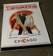 CHICAGO *ORIGINAL* Rolled Theatrical One-Sheet Poster -SEXY Renee Zellweger