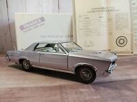 Danbury Mint 1965 Pontiac GTO 1:24 Scale Diecast Model Car Iris Mist Goat