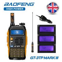 Baofeng GT-3TP Mark III VHF UHF 136-174/400-520MHz 1/4/8W HT Radio Walkie Talkie