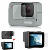 Anti-scratch Tempered Glass Screen Protector GoPro Hero7 Action Cam AK