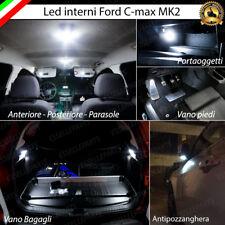 KIT LED INTERNI ABITACOLO FORD C-MAX 2 COMPLETO + LED SPECCHIETTI ESTERNI 6000K