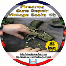 Gunsmith Guns Ammo Firearms Rifles Muskets Military Training Repair Books DVD