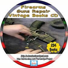Gunsmith Guns Ammo Firearms Rifles Muskets Military Training Repair Books DVD